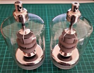 Philips QB3/300 / 4-125A / RS1007 / 6155 RF Power Tetrodes, lightly used pair.