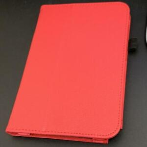 Red For Samsung Galaxy Tab Note 8 N5100 PU Leather Case Cover