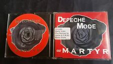 Depeche Mode Martyr DVD Video + 2 Remixes DVDBong39 rare Dave Gahan Martin Gore