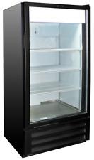 "Heavy Duty Glass Door Display Cooler Refrigerator 26"" W 54"" H Vr-10Hc New #9733"