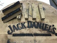 (10) Jack Daniels Whiskey Barrel Pen Blanks With COA's - Free Shipping