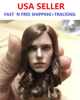 1/6 Scale Scarlett Johansson Black Widow 5.0 Head Sculpt for Phicen Jodoll