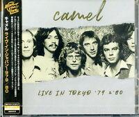 CAMEL-LIVE IN TOKYO '79 & '80-IMPORT CD F68