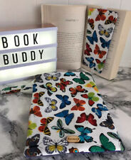 Butterfly Print Book Sleeve & Bookmark. Kindle Protector Bn