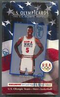 1992 Impel U.S. Olympic Hopefuls Basketball Rectangular Box