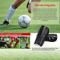 Adult Child Soccer Training Shin Guards Shin Pads Brace Gear Football Protector
