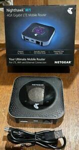 NETGEAR Nighthawk M1 Telstra 4GX Gigabit LTE Mobile Router Mr1100