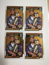 KOBE BRYANT 2016-17 Donruss Optic The Champ is Here Lot Of 4