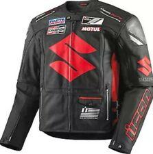 Suzuki MotoGp Motorbike Jacket Motorcycle Racing Leather jacket