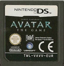 NINTENDO DS AVATAR THE GAME CARTRIDGE ONLY