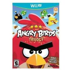 BRAND NEW FACTORY SEALED WII U -- Angry Birds Trilogy (Nintendo Wii U, 2013)
