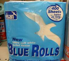 Elsan Azul rollos de papel higiénico soluble Cassette Loo papel 4 Pack Caravana Autocaravana