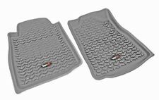 Gray All Terrain Front Floor Liners for Toyota Tundra 2007-2011 Rugged Ridge