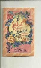 Salut d'Amour Sachet Bouquet de Fleurs Unopened TreVaux Chicago For Handbag