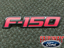 2009 thru 2014 F-150 OEM Genuine Ford Parts RED FX4 FX2 Tailgate Emblem NEW