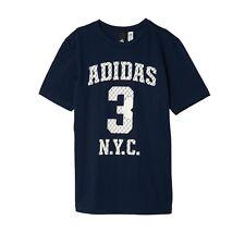 Camisas y camisetas de niño de 2 a 16 años adidas color principal azul
