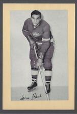 1944-63 Beehive Group II Detroit Red Wings Hockey Photos #154 Stephen Black