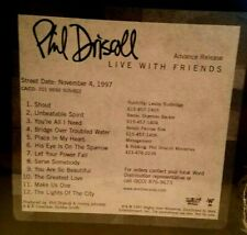 Live With Friends by Phil Driscoll (CD, PROMO, 1998) NEW