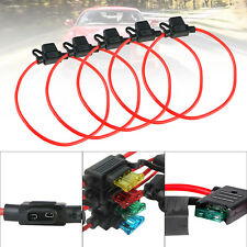New listing 5-pack 12Awg Atc 30Amp Automotive Water-Resistant Inline Holder Blade