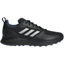 Mens Adidas RunFalcon Trail Black Hiking Athletic Running Shoe FZ3578 8.5 - 10.5