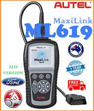 AUTEL ML619 OBD2 SRS AIRBAG Diagnostic Car Scanner Fault Code Reader FOR FORD