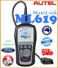 AUTEL ML619 ABS AIRBAG Diagnostic Auto Car Scanner Fault Code Reader Tool AL619