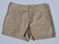 So Girls Size 16 Tan Shorts Cotton  Adjustable Waist NWT
