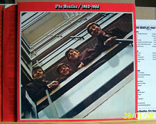 Beatles - 1962-1966 - orig. 1973 UK Apple PCS 7172  DLP m- / Beilage / OIS / FOC