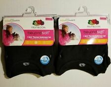 Fruit of the Loom Girls' Soft Waffle Thermal Underwear Set *2 PACK* XS OR Small