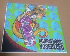 "Agoraphobic Nosebleed/Total Fucking Destruction  Split 7"""