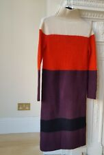 RAG & BONE NEW YORK  IVORY BRITTON SWEATER DRESS   SIZE - XS