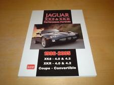 JAGUAR XK8 XKR COUPE CONVERTIBLE BOOK Not Brochure Or Owners Manual Handbook
