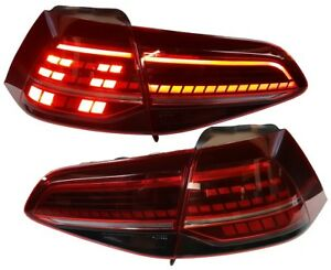 Led Rückleuchten VW Golf 7 13-17 rot-smoke Original-Look R-Optik links rechts