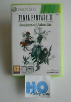 FINAL FANTASY XI seekers of adoulin (on line) -TRES RARE VERSION PAL- Xbox 360