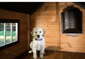 Akoma Dog Products Hound Heater Deluxe Dog House Heater With Cord Protector NIB