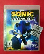 Sonic Unleashed - PLAYSTATION 3 - PS3 - USADO - BUEN ESTADO