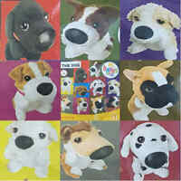 McDonalds Happy Meal Toy 2005 Artist The Dog Puppy Soft Plush Toys - Various