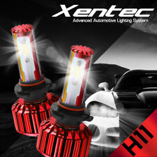 PHILIPS H11 H8 H9 252W 252000lm LED Headlight Kit single Beam 6500k pk cree 120w