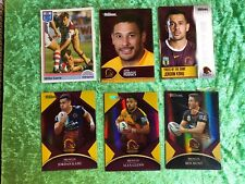 NRL ARL NSWRL Brisbane Broncos Trading Card Lot