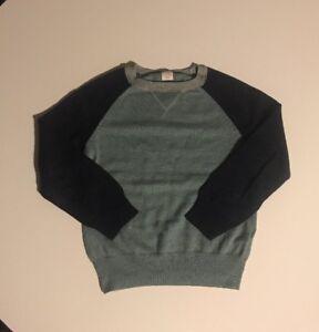 J Crew Crewcuts Boys Heather Gray Sweater Size 4Y -5 Y $49