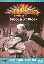 The Three Stooges at Work (1945) - Moe Howard, Larry Fine, Curly Howar - DVD NEW