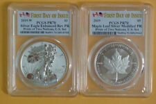 2019 Pride of Two Nations Two-Coin Set PCGS PR70/PR70 FIRST DAY OF ISSUE