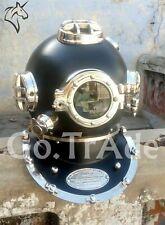 Antique US Navy Vintage Dive Helmet Mark V Diving Divers Birthday Gift Helmet DH