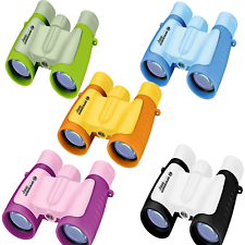 BRESSER Junior Kinderfernglas 3x30 5 Farben Fernglas Kinder Kind Brillenträger