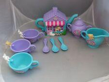 KENNER Vintage 1994 LITTLEST PET SHOP Tea Set - Tea party kittens & bunnies