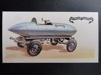 No.5 LA JAMAIS CONTENTE ELECTRIC  History of the Motor Car by Brooke Bond 1968