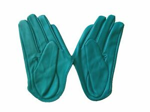 Get Racy Half Palm Gloves in Teal