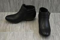 **Sam Edelman Kids Petty Packer Ankle Booties - Little Girl's Size 2 - Black