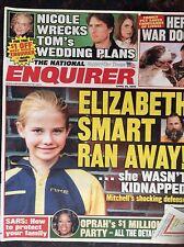 National Enquirer April 22, 2003 Elizabeth Smart. Tom Cruise Katie Holmes Nicole
