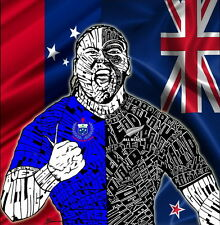 """97 All Blacks New Zealand Rugby Team Art 14""""x14"""" Poster"""